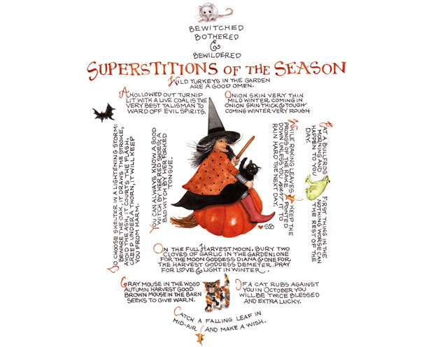 Superstitions of the Season
