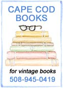 Cape Cod Books 1-508-945-0419