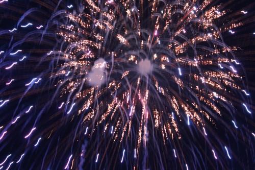 Fireworks in Oak Bluffs