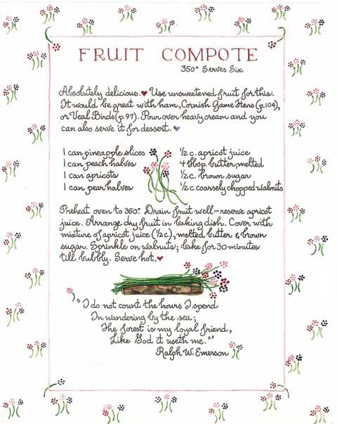 fruitcompote