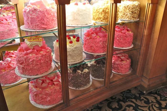 Madonna Inn Wedding Cakes
