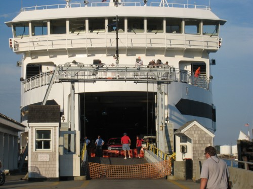 ferry boat to martha's vineyard