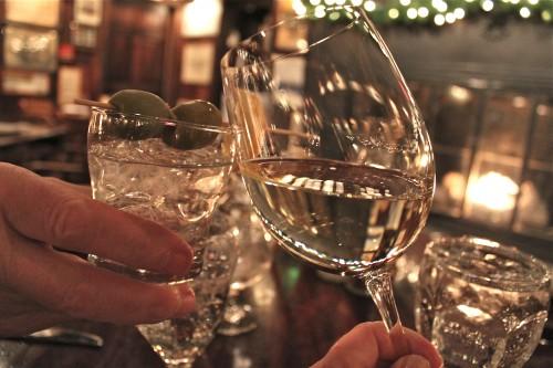 A toast, Happy Anniversary