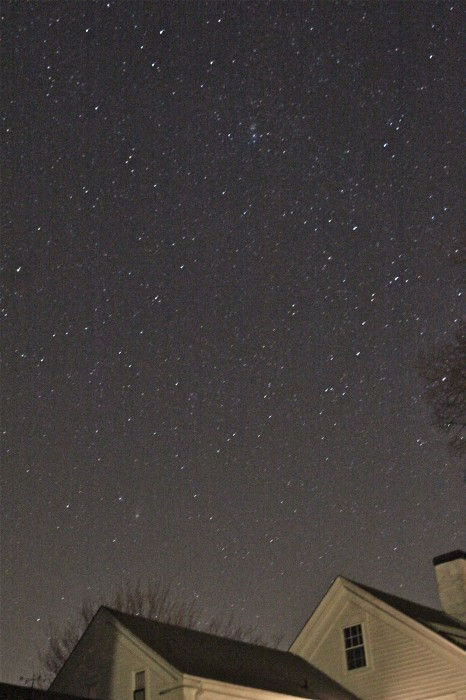 stars over our house