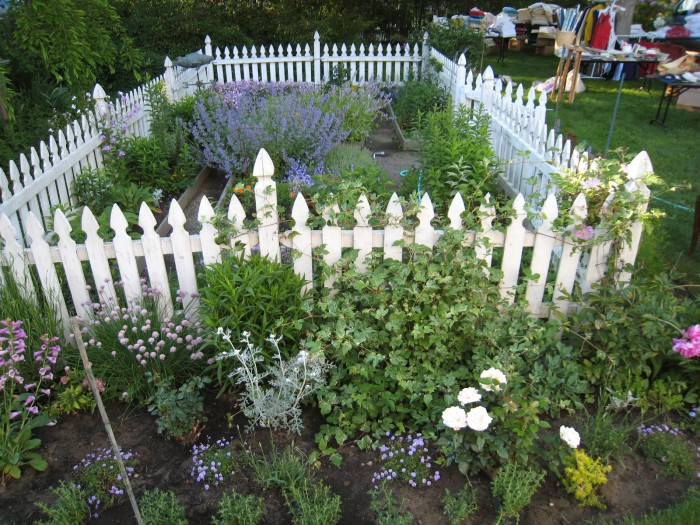 The Next Year, Joe Put In Raised Beds With A Path That Goes All The Way  Around. I Added Lots Of Flowers! Many Flowers, All The Roses And Berries,  ...