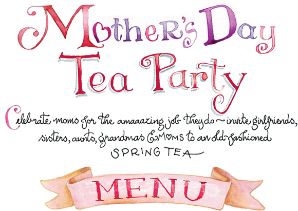 Mother S Day Tea Susan Branch Blog