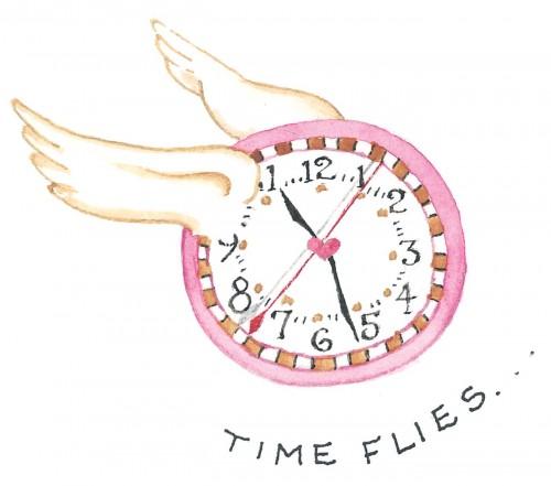 time flies art