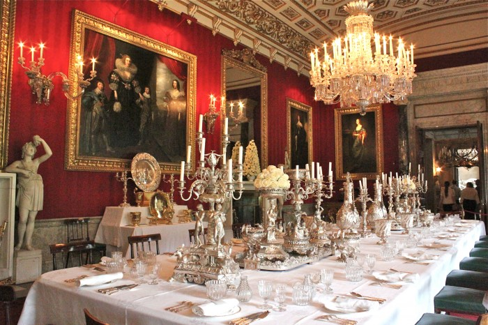 Gallery For Downton Abbey Dining Room Painting