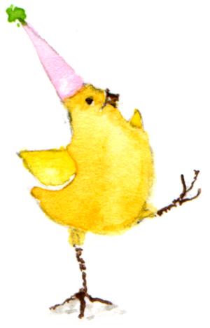 dancing chicken