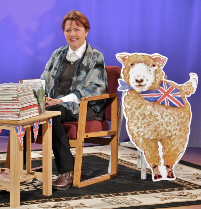 me and lamb