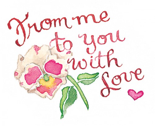 from me to you with love