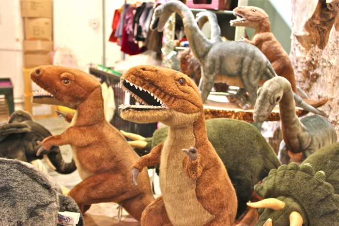 dinosaur department