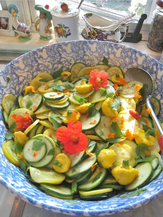 Picnic Squash Salad