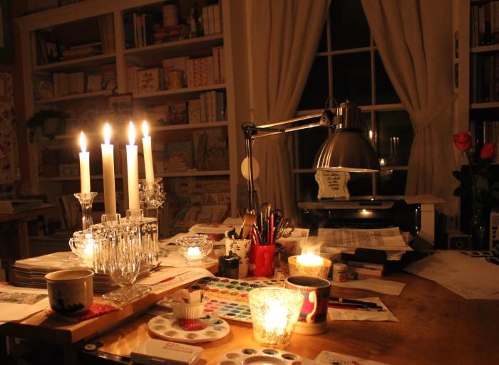 no electricity!