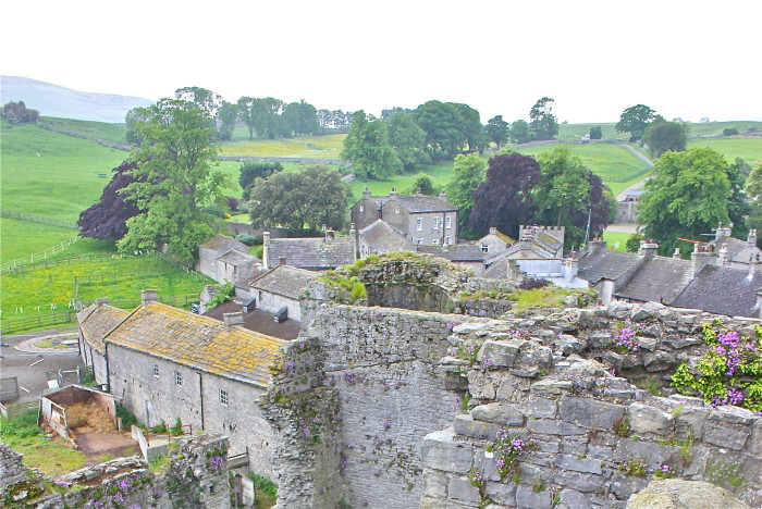 From Middleham Castle
