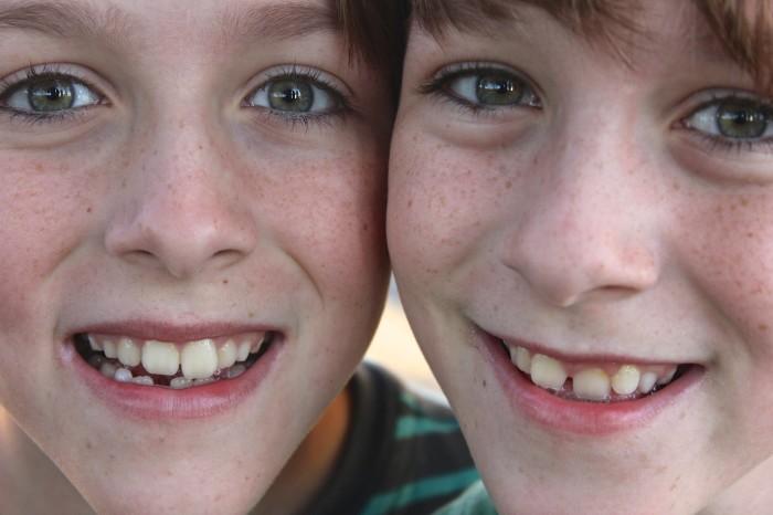 Twins Paden and Mason