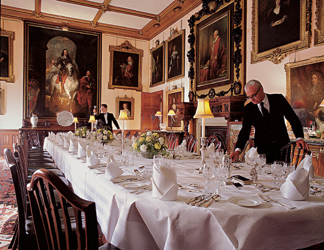 downton abbey dining