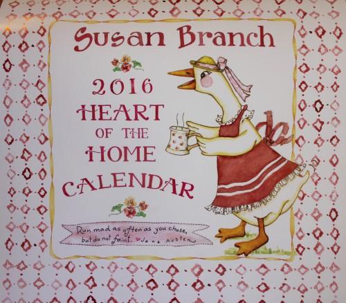 2016 wall calendar susan branch