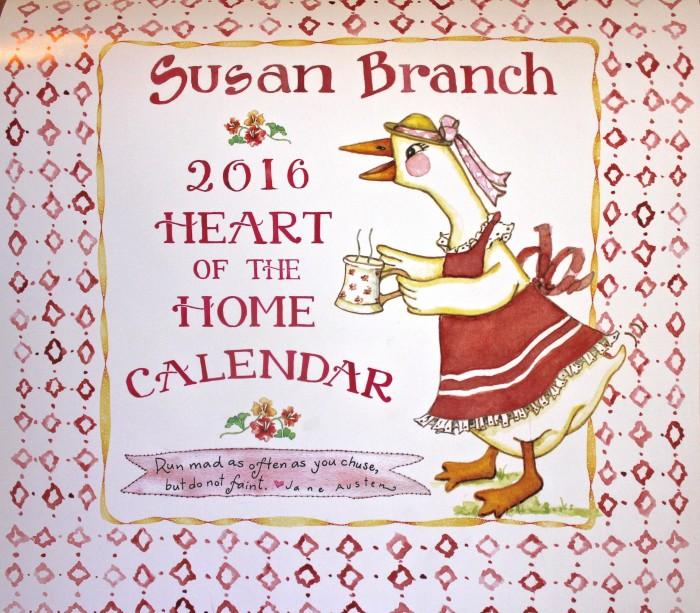 susan branch 2016 wall calendar