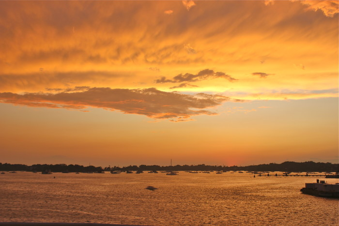 sunset on Martha's Vineyard