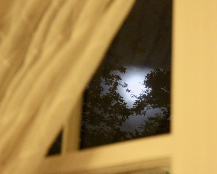 Moon at the dinner party