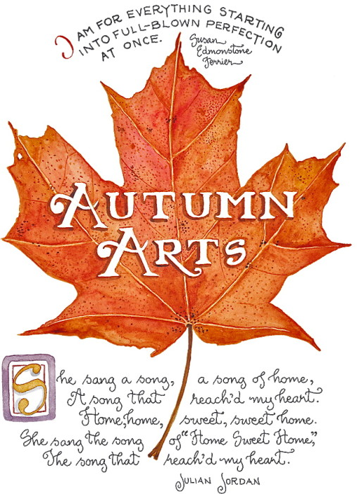Autumn arts