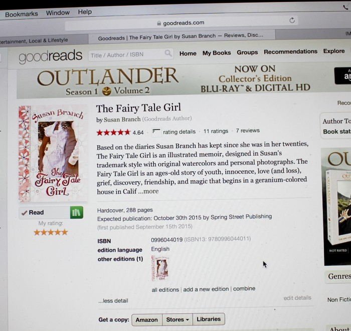 The Fairy Tale Girl on Goodreads