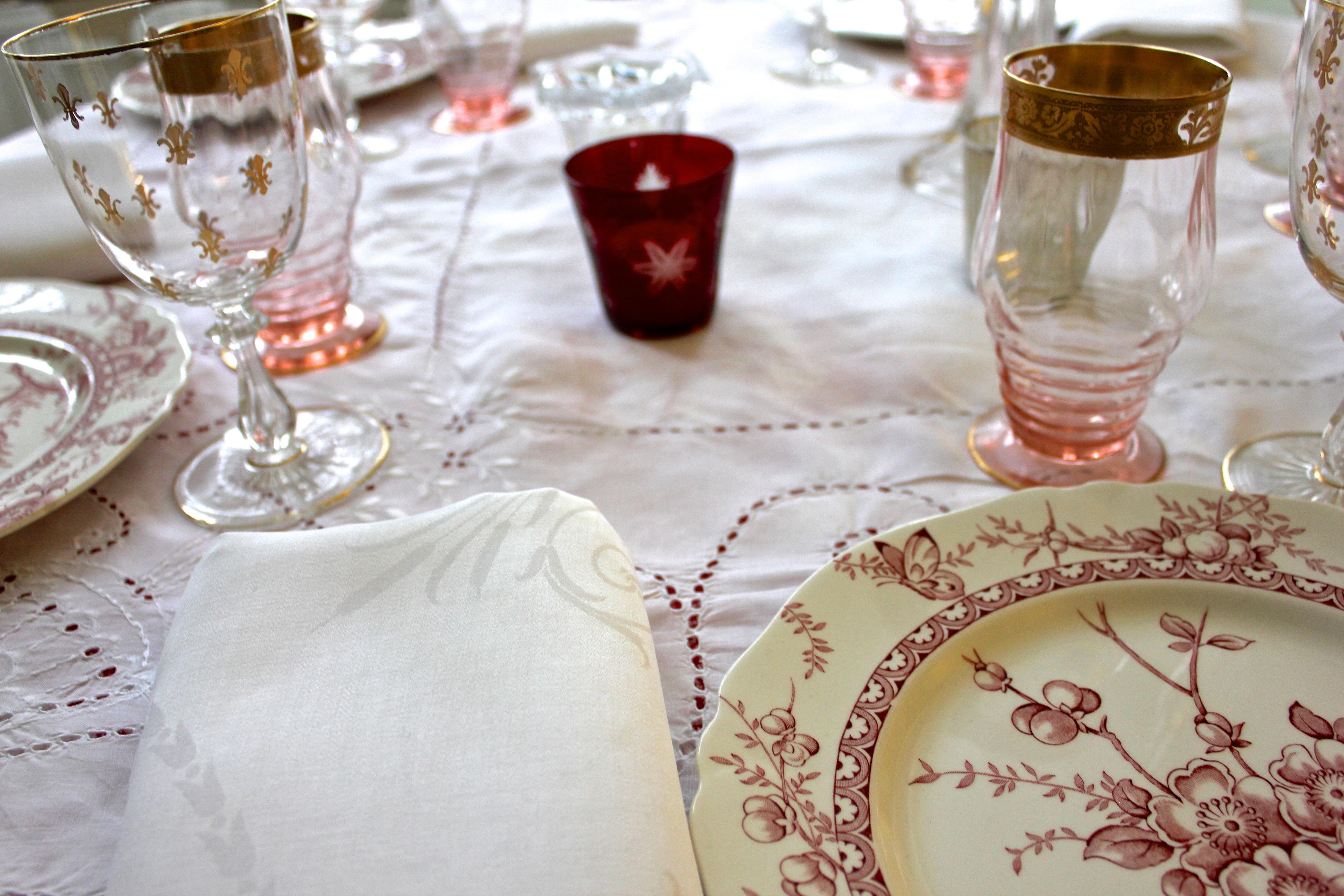 table setting & table setting   Susan Branch Blog