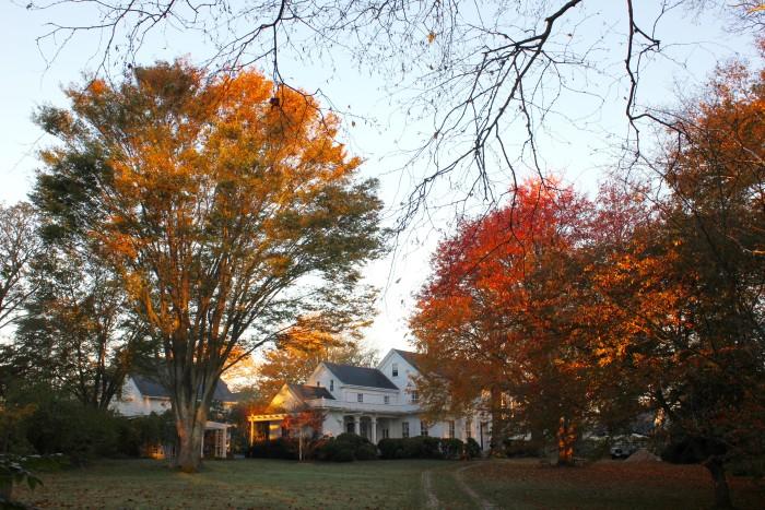sunrise fall