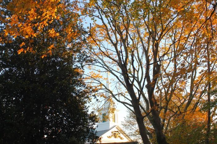 fall on Martha's Vineyard