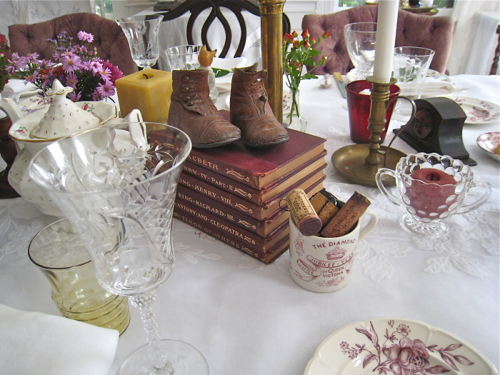 Books for table