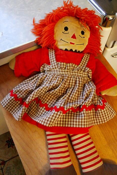 Shelly's Kelly doll