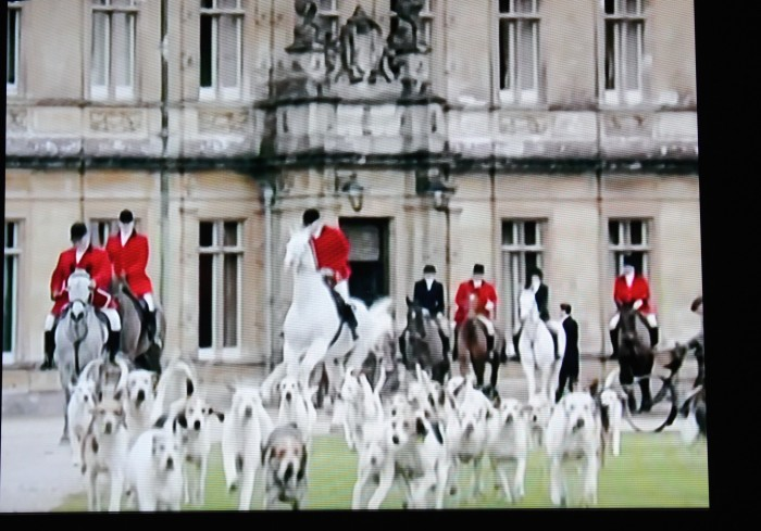 fox hunt on downton